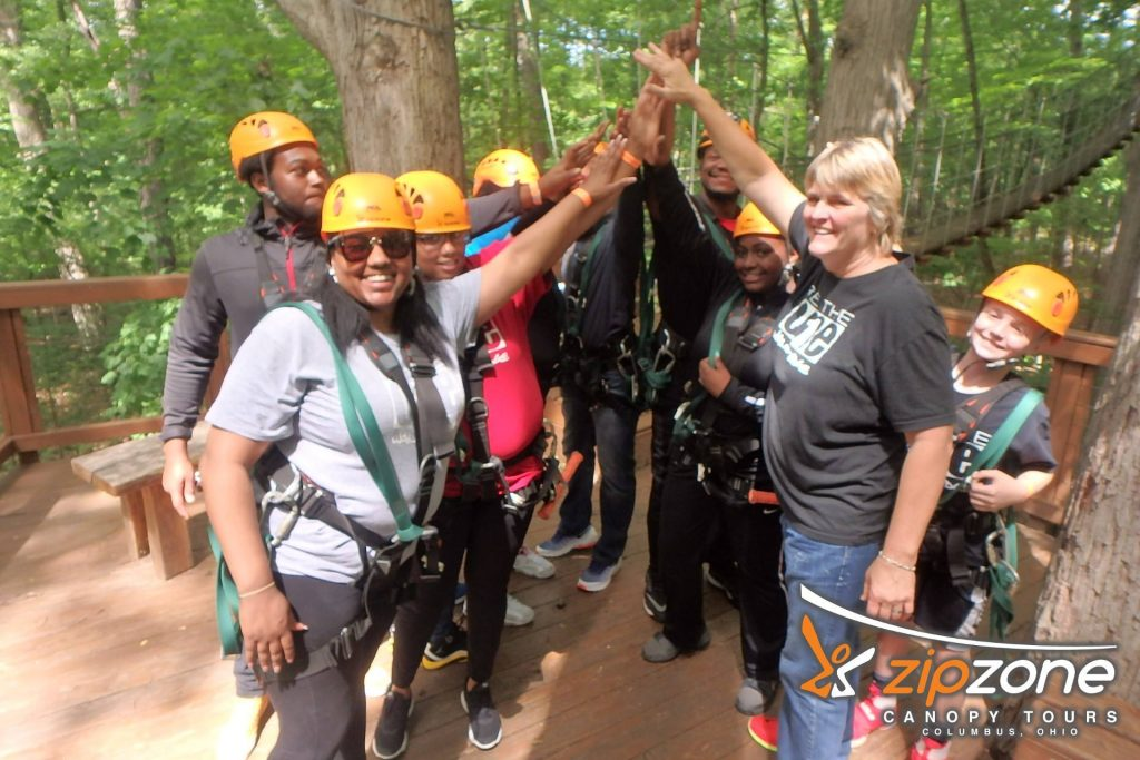 Dawn Heideman Be The One Zipzone Canopy Tours All The